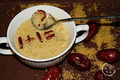 煮个好吃养胃的小米粥