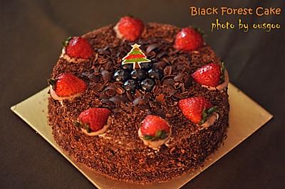 黑森林生日蛋糕#九阳烘焙剧场#