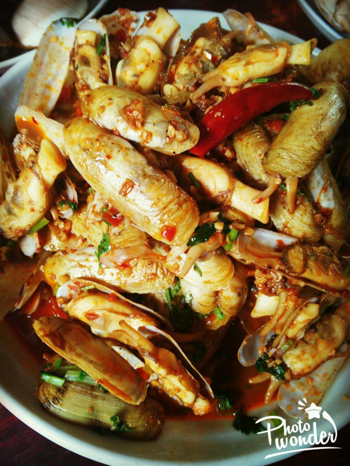 辣炒海蛏的做法_菜谱_豆果美食