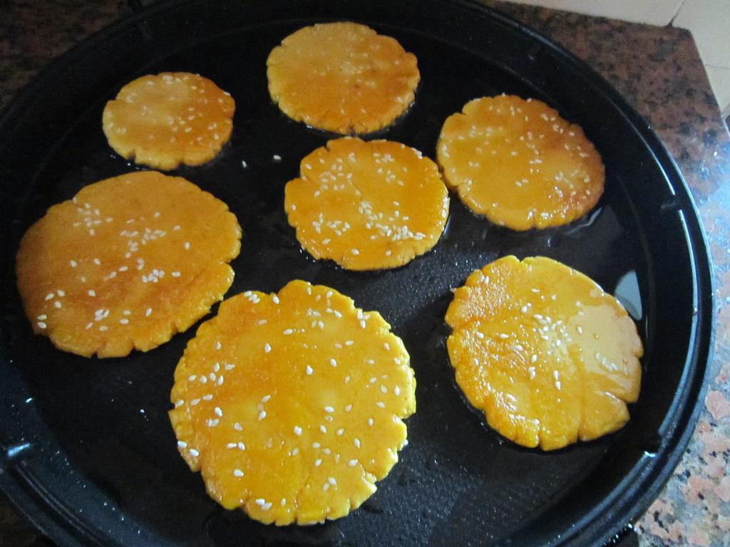香煎红薯饼的做法图解10