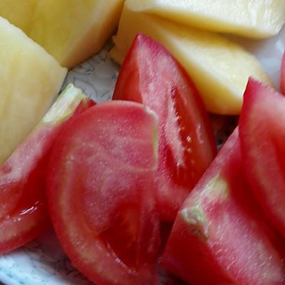 奶香牛尾巴初期薯仔汤的海蜇_美食_豆果菜谱怀孕做法吃了番茄海参图片