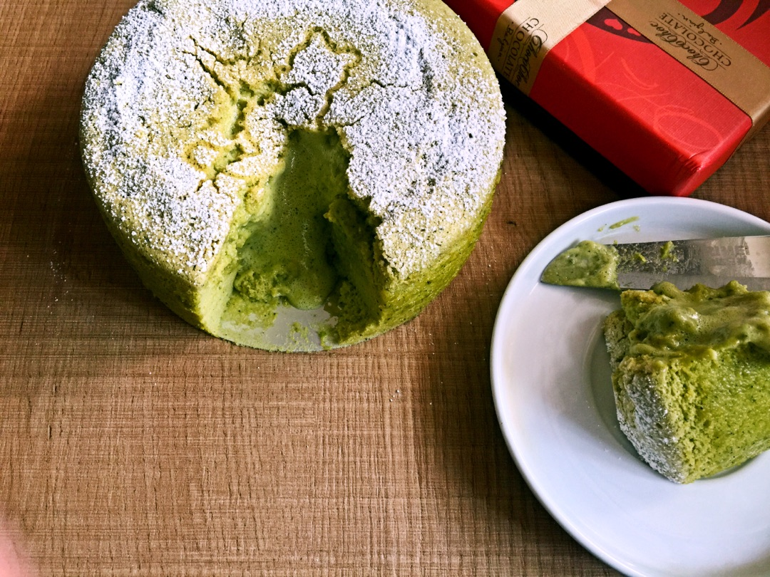 抹茶岩溶蛋糕