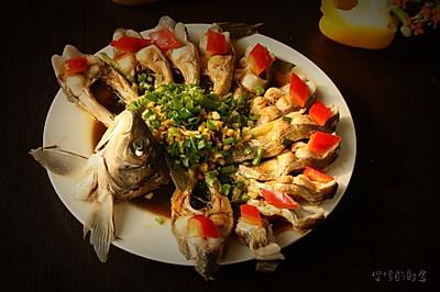 江西年夜饭必备---开屏武昌鱼