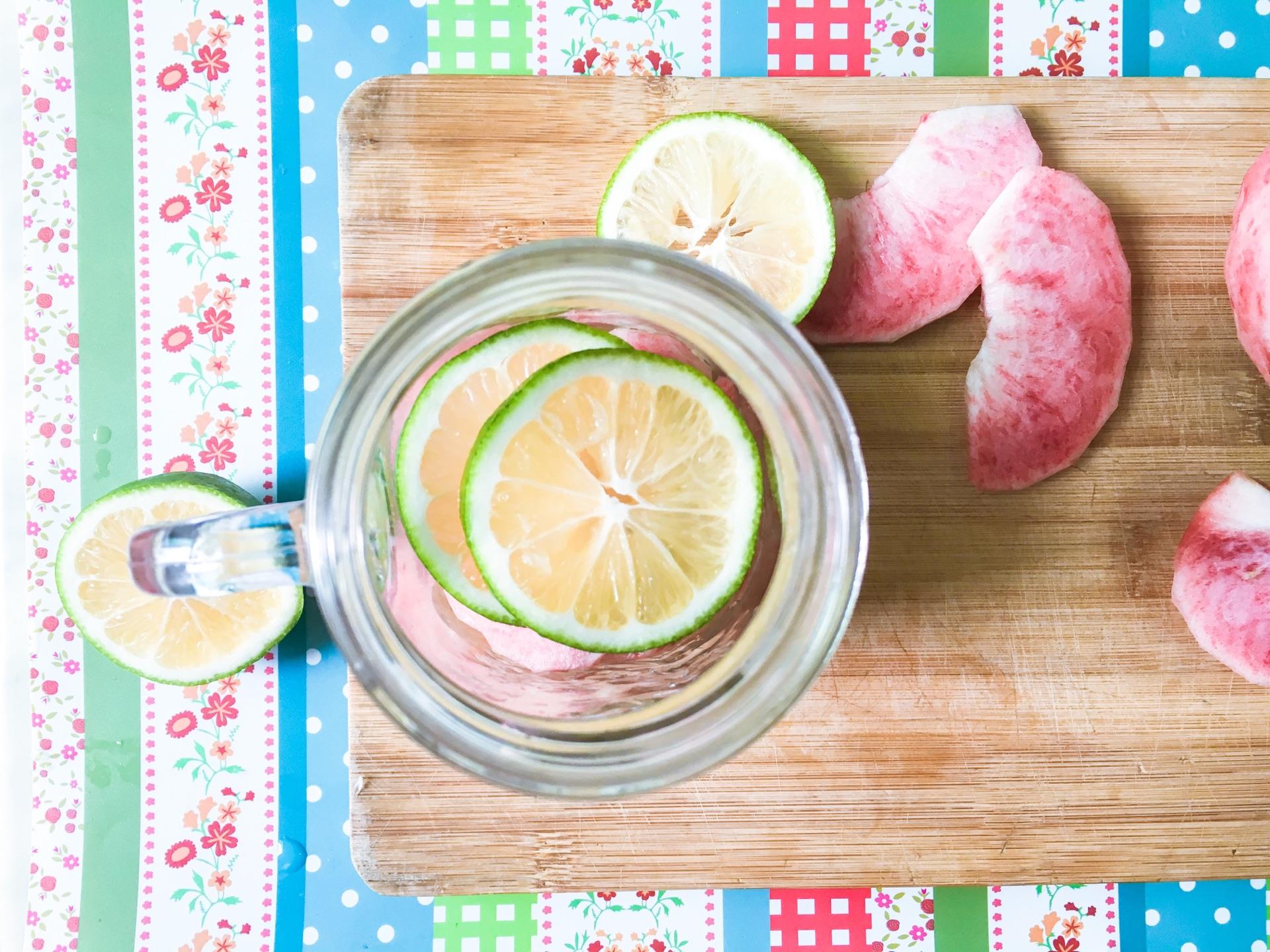桃子汽水的做法步骤