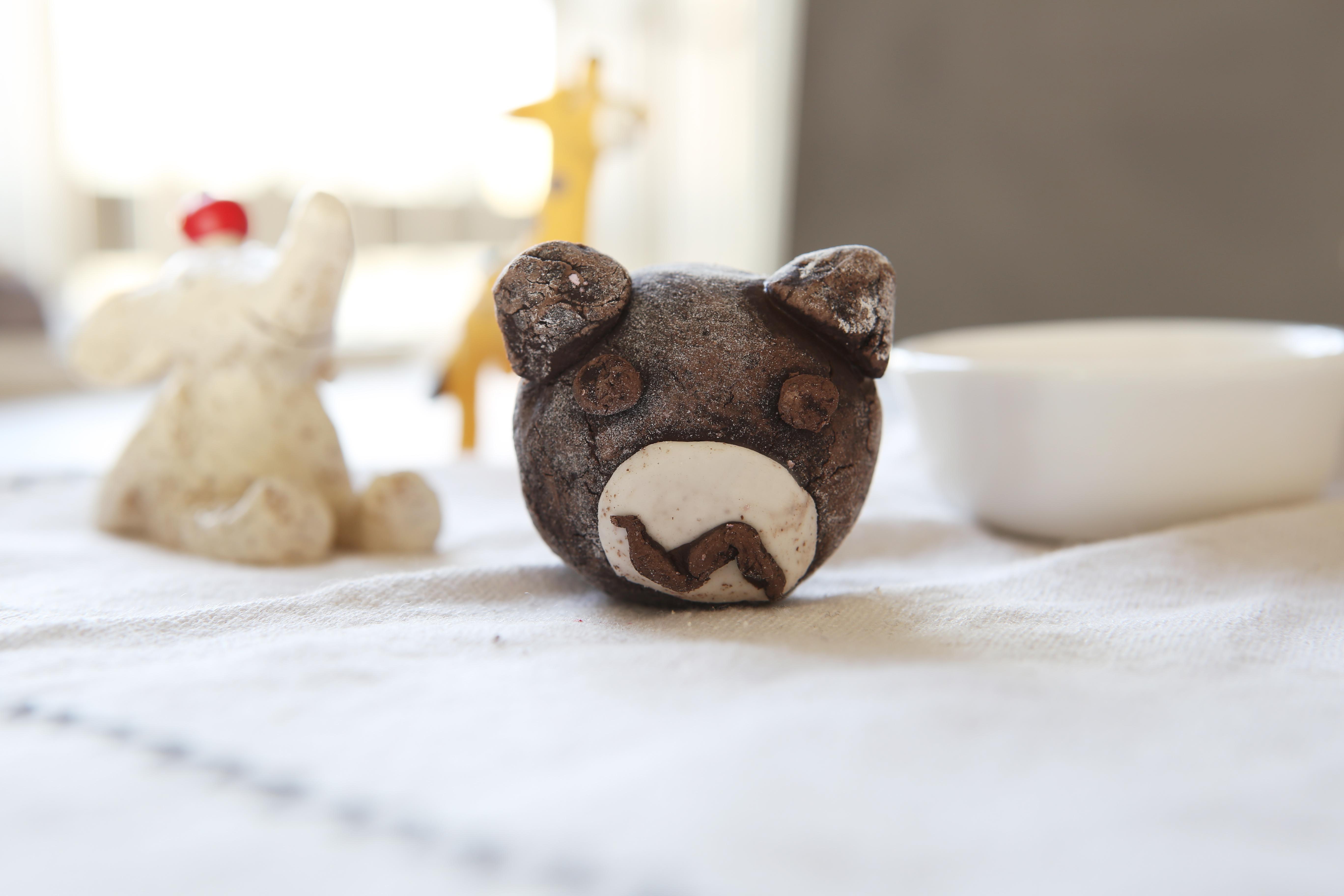 剩下的面团可以制作各种小动物造型的