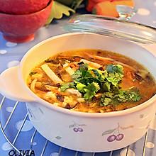 开胃暖身酸辣汤
