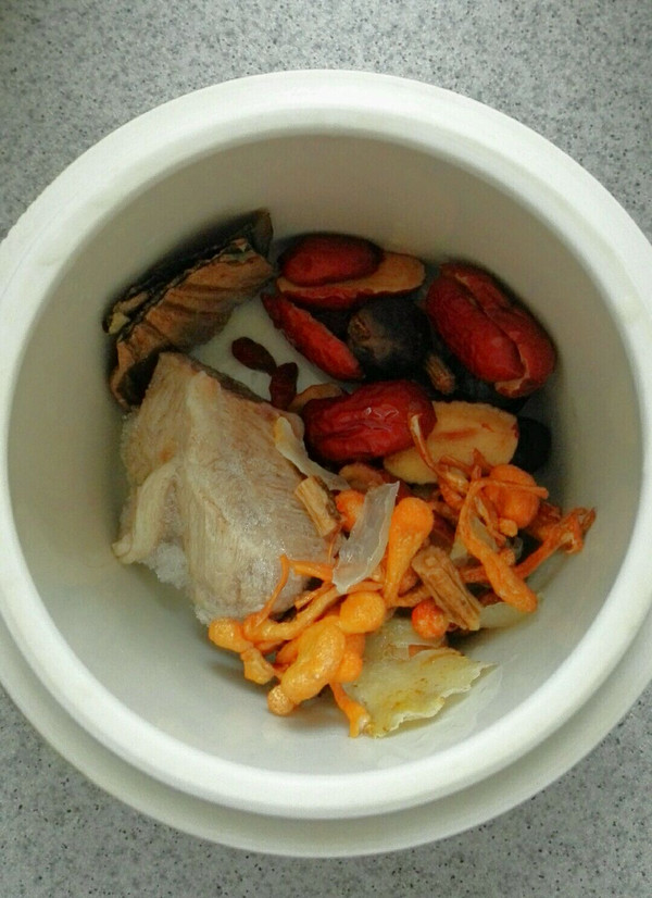 做法花菜谱桂圆v做法汤的美食_红枣_豆果虫草成都家常菜介绍图片