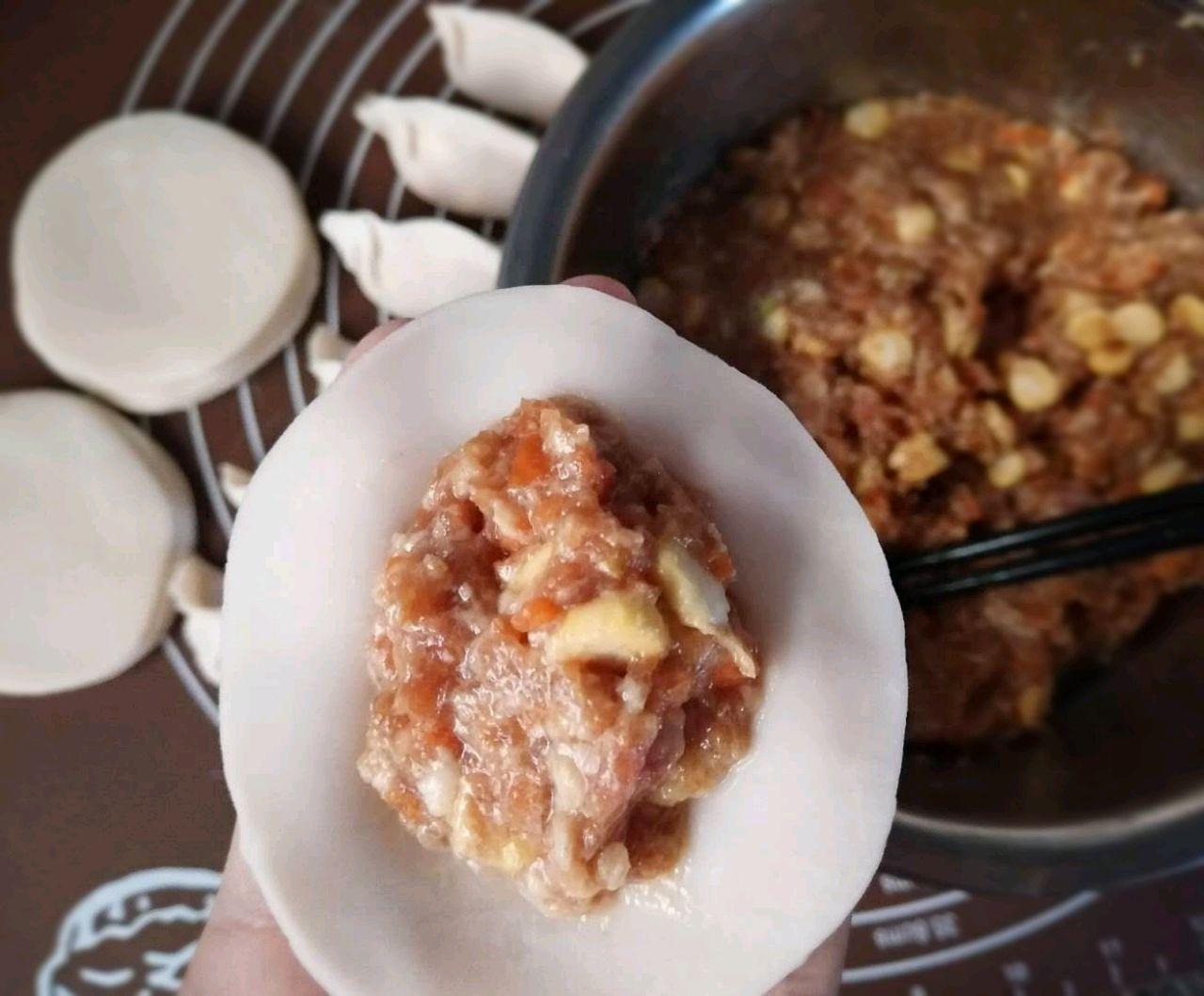 猪肉魔芋胡萝卜馅最好#饺子料美食,哪种馅儿吃种玉米致富图片