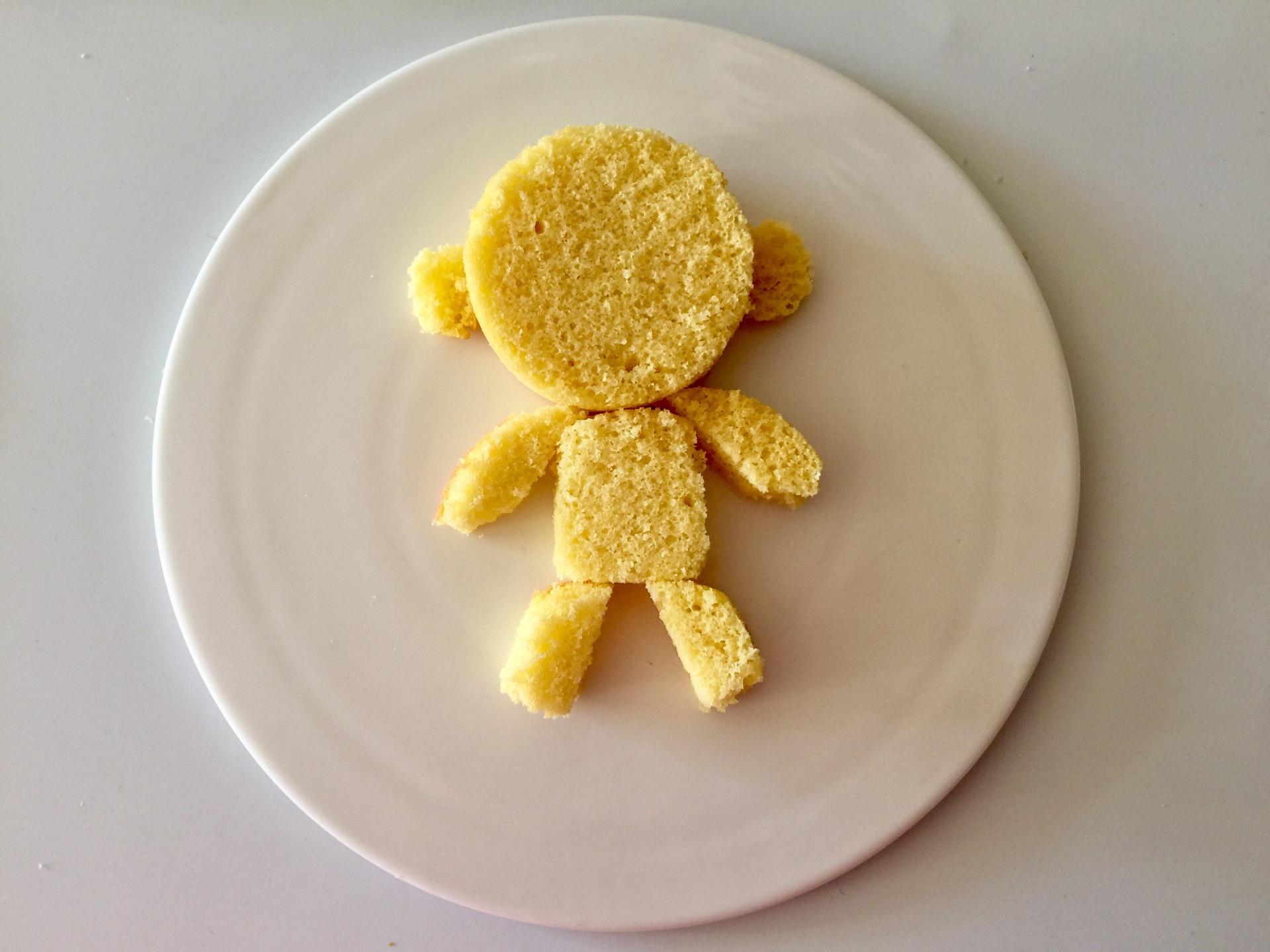 儿童早餐—小猴子海绵蛋糕