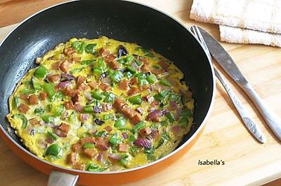 快手早餐——蔬菜烘蛋