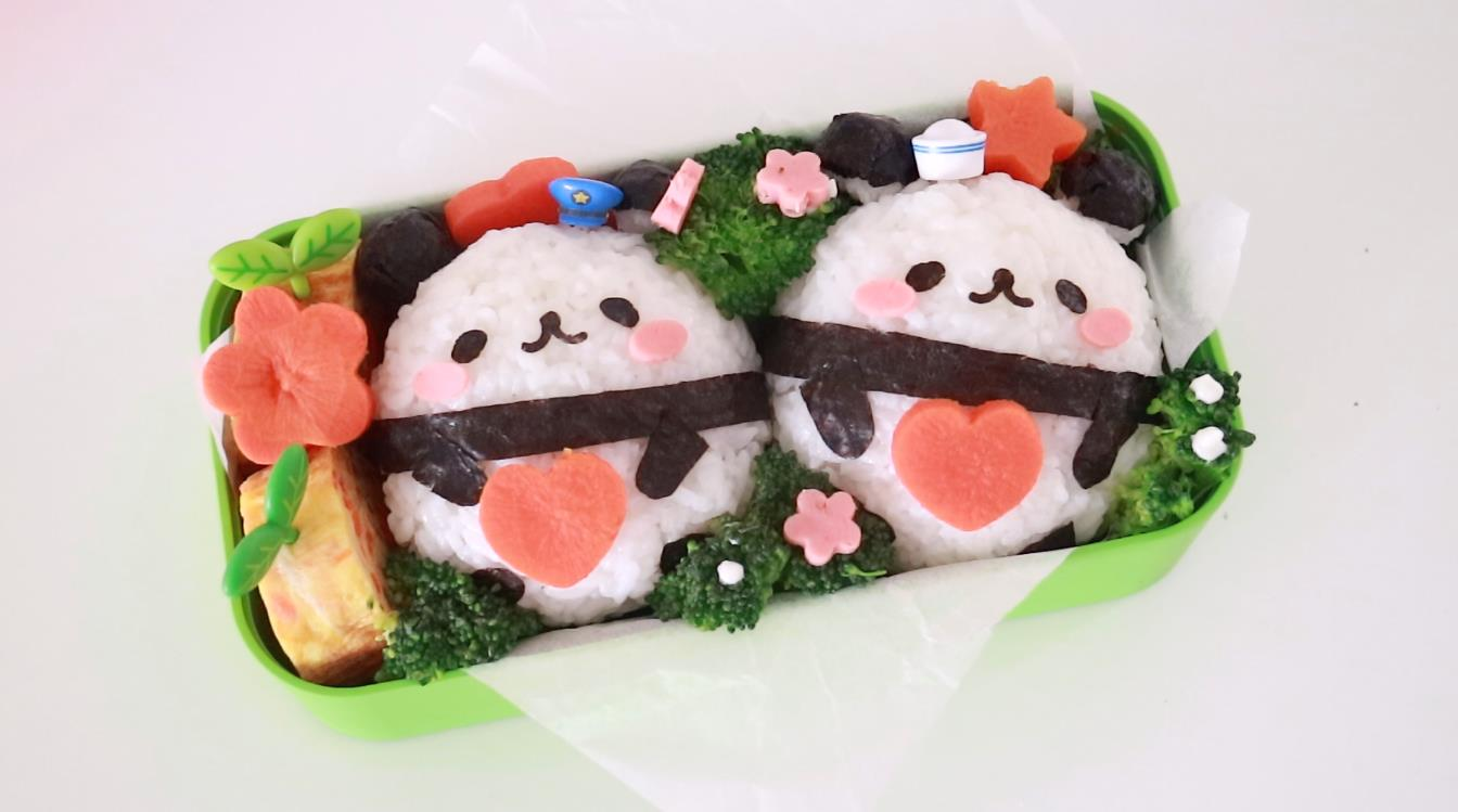 肚子里有美味馅料的熊猫宝宝来啦,春季最萌的宝宝野餐