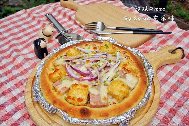烤箱Pizza#美的部队菜谱#白砂糖咳嗽能吃吗图片