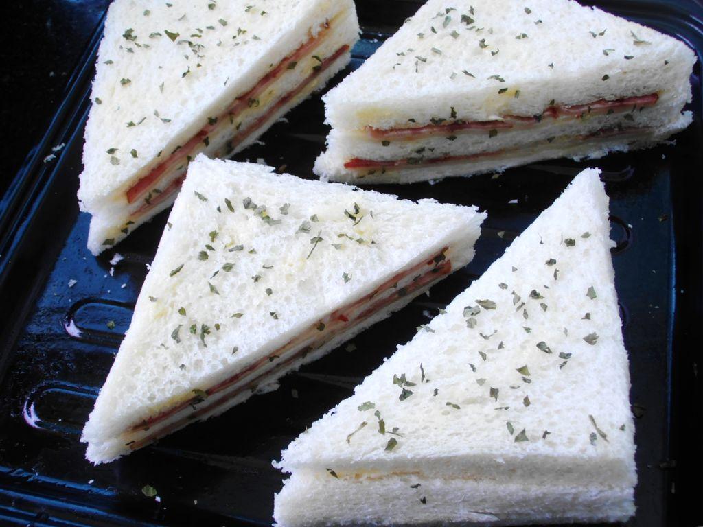 焗烤三明治的做法图解5