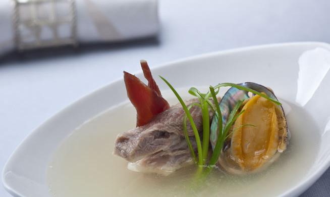 拉歌蒂尼辅食:鲍鱼火腿炖菜谱7月8婴儿排骨食谱图片