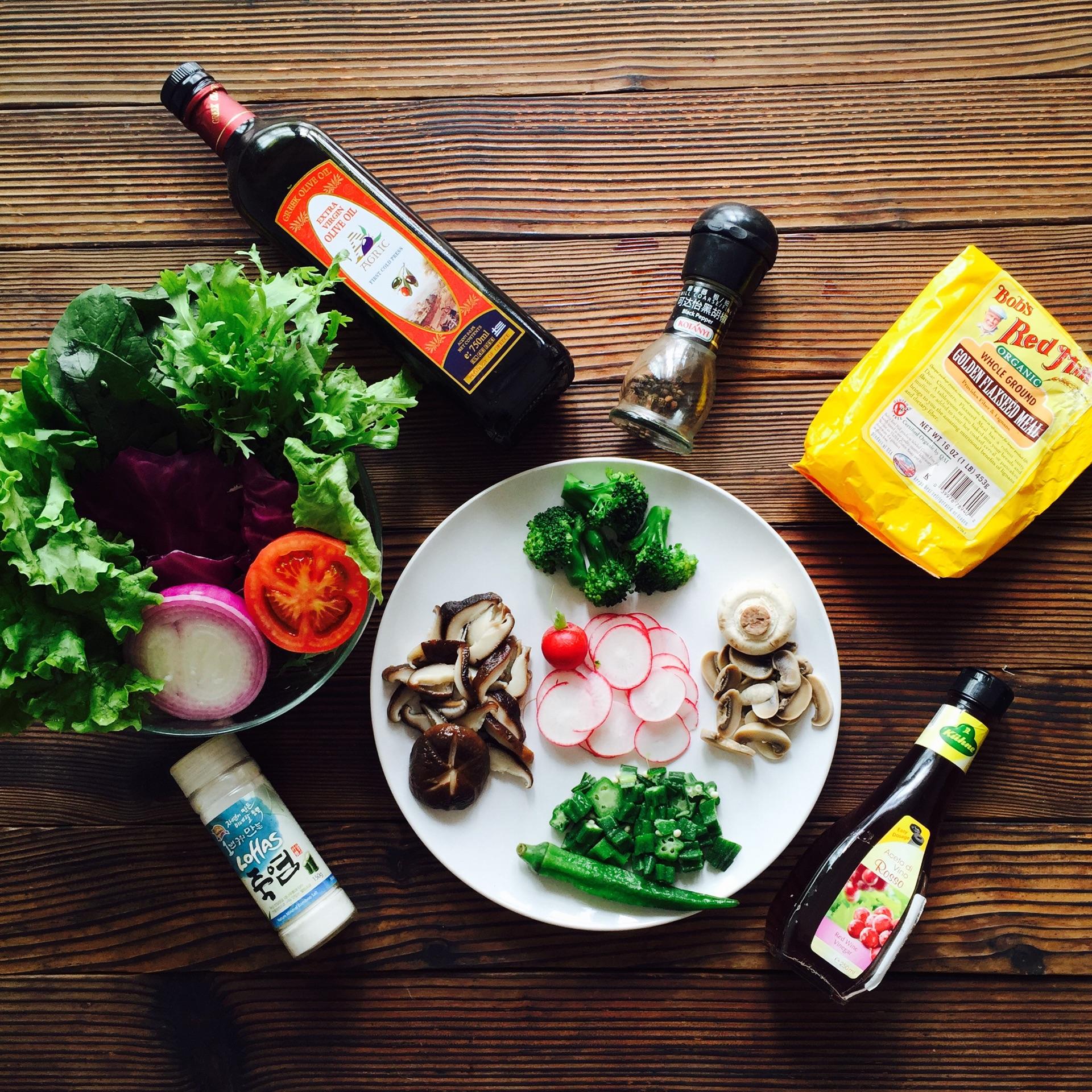 减脂增肌超低卡蔬菜沙拉的做法步骤