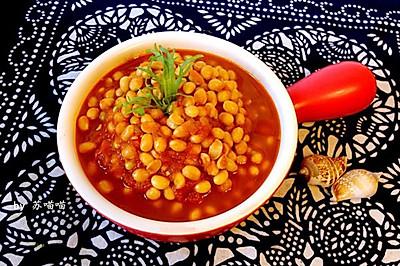 秘制茄汁黄豆