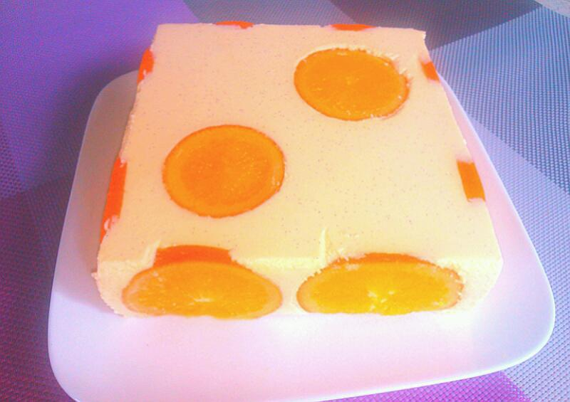 扫一扫 边看边做更方便 主料 戚风蛋糕片(6寸)两片 橙子装饰部分 水
