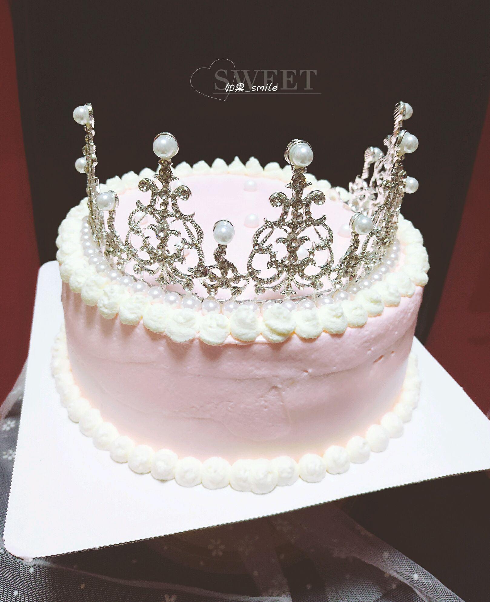 皇冠蛋糕#豆果6周年生日快乐