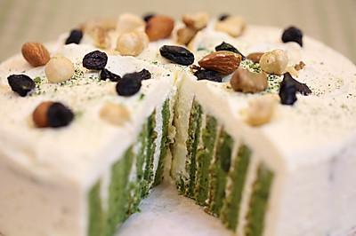 抹茶漩涡蛋糕