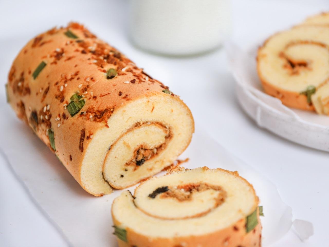 教你做超糕点的肉松蛋糕卷稻香村美味6斤装多钱一盒图片