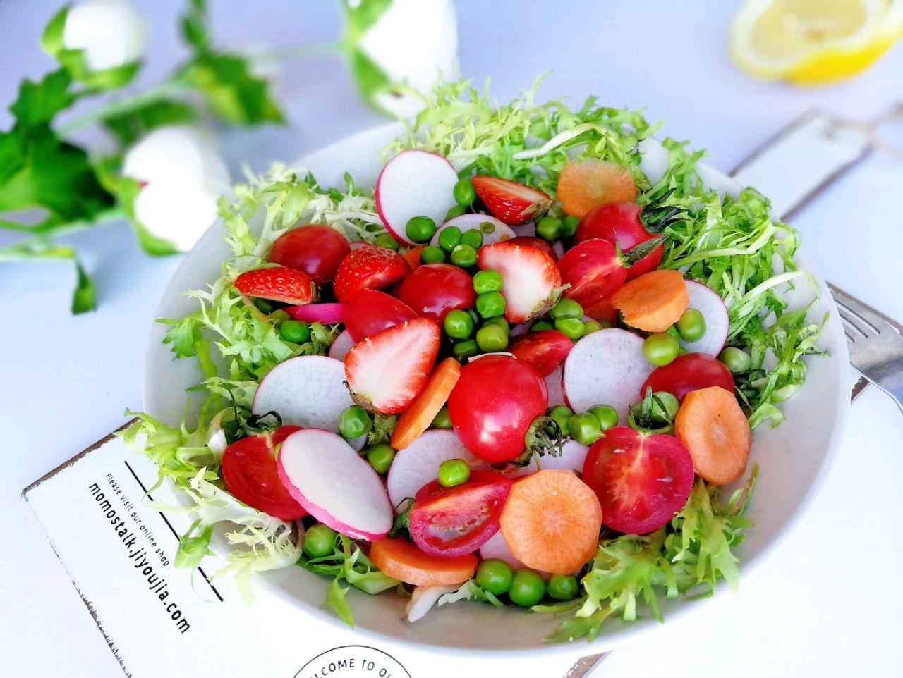 水果蔬菜沙拉的做法步骤