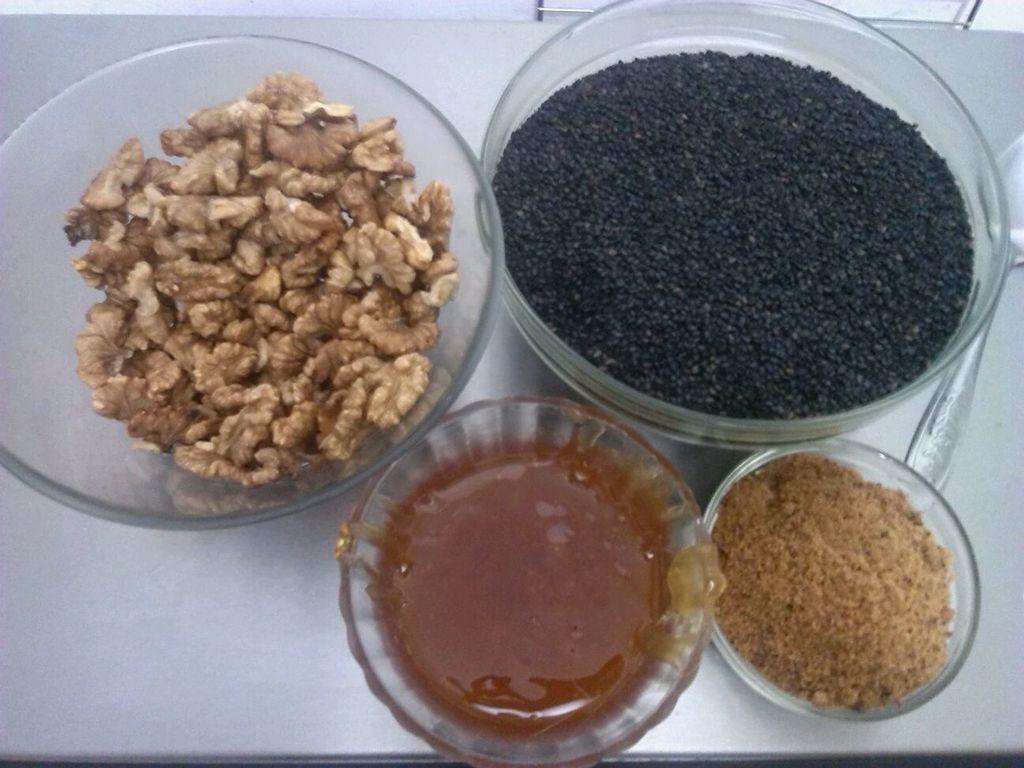 芝麻核桃糖(阿胶红糖)