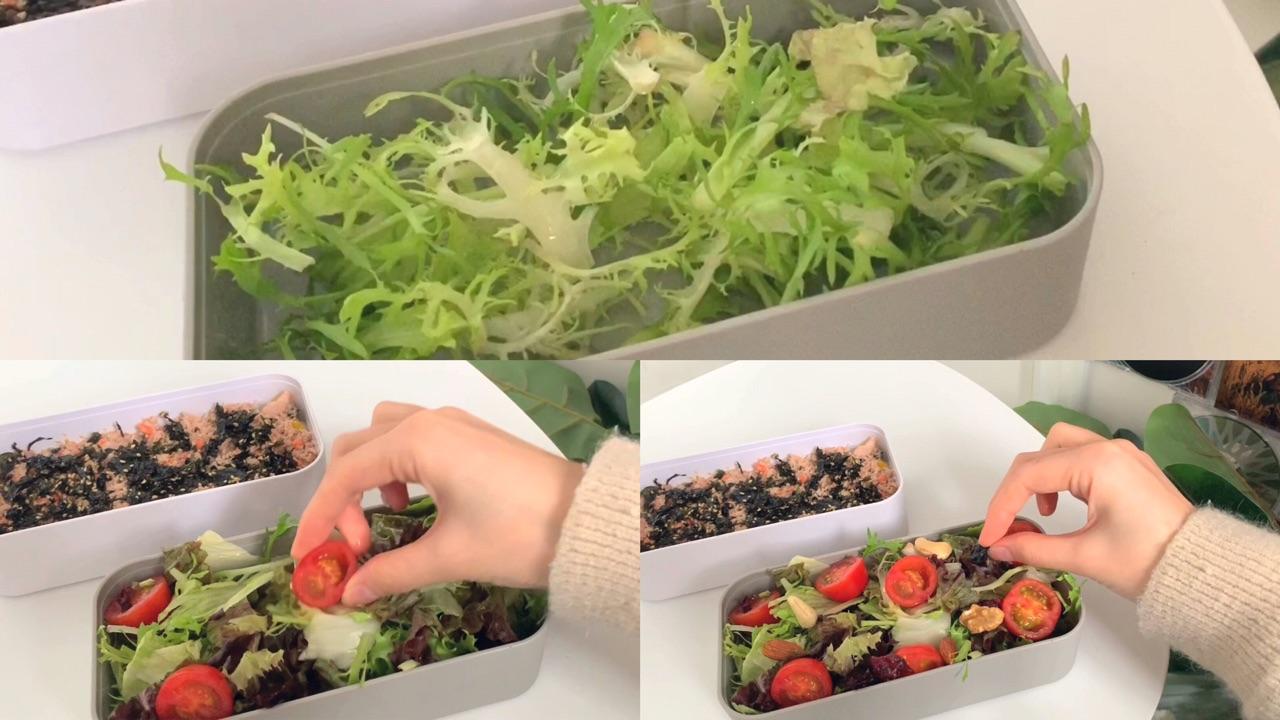 春季v海苔,边吃边瘦#金枪鱼海苔机能&拌饭瘦腿蔬菜玩跳舞沙拉坚果么图片