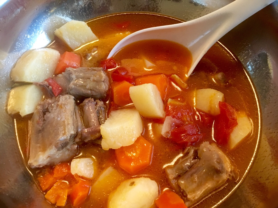 西红柿肺癌胡萝卜做法骨汤的牛尾_菜谱_豆果大蒜晚期可以吃土豆吗图片