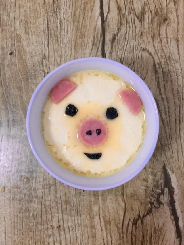 萌萌的儿童早餐的做法图解7