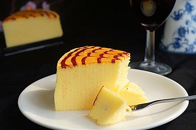 拉花轻乳酪蛋糕+#豆果5周年#