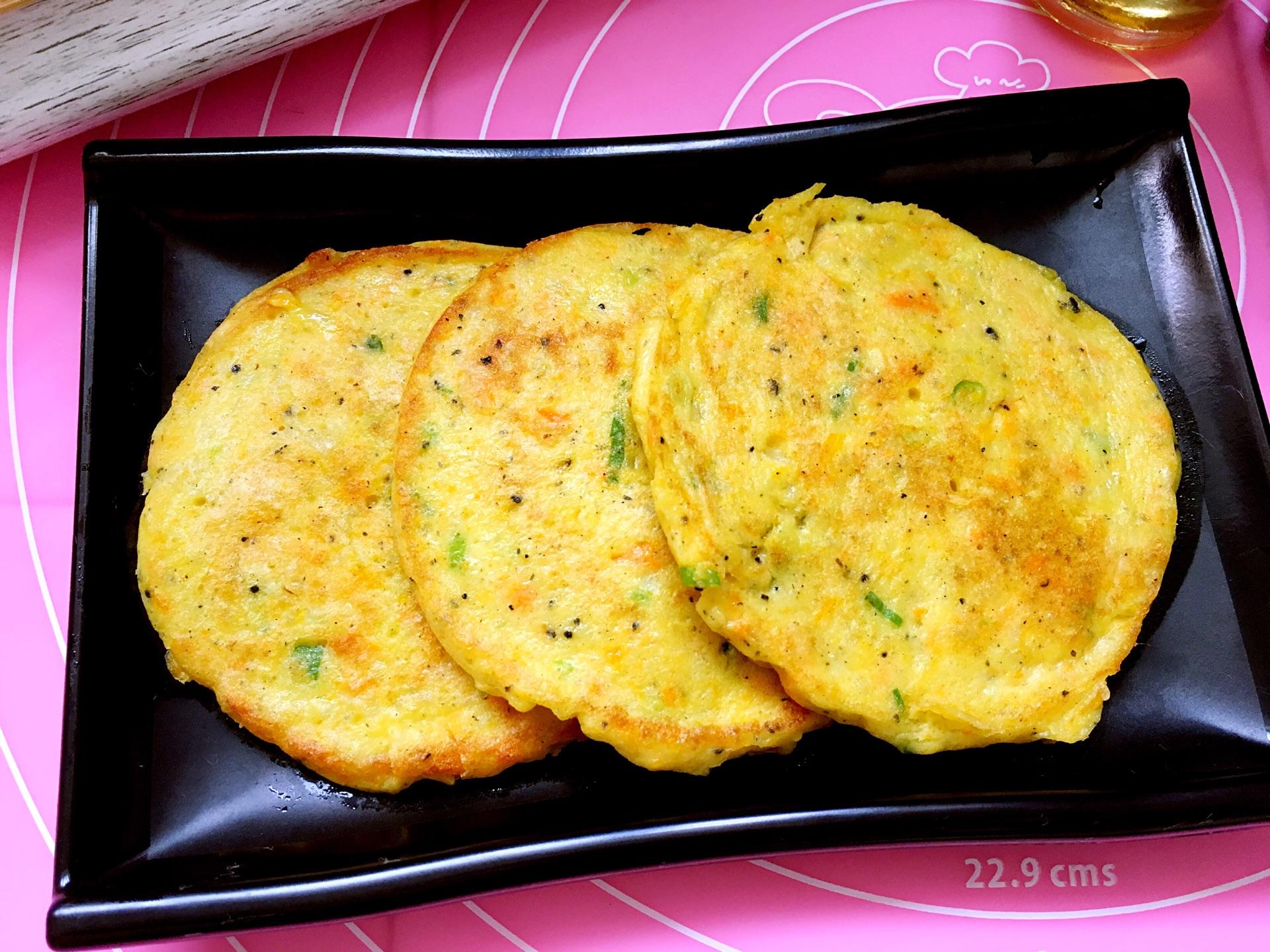 宝宝辅食——土豆鸡蛋饼的做法图解9