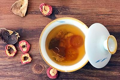 山楂陈皮菊花茶-减肥茶疗