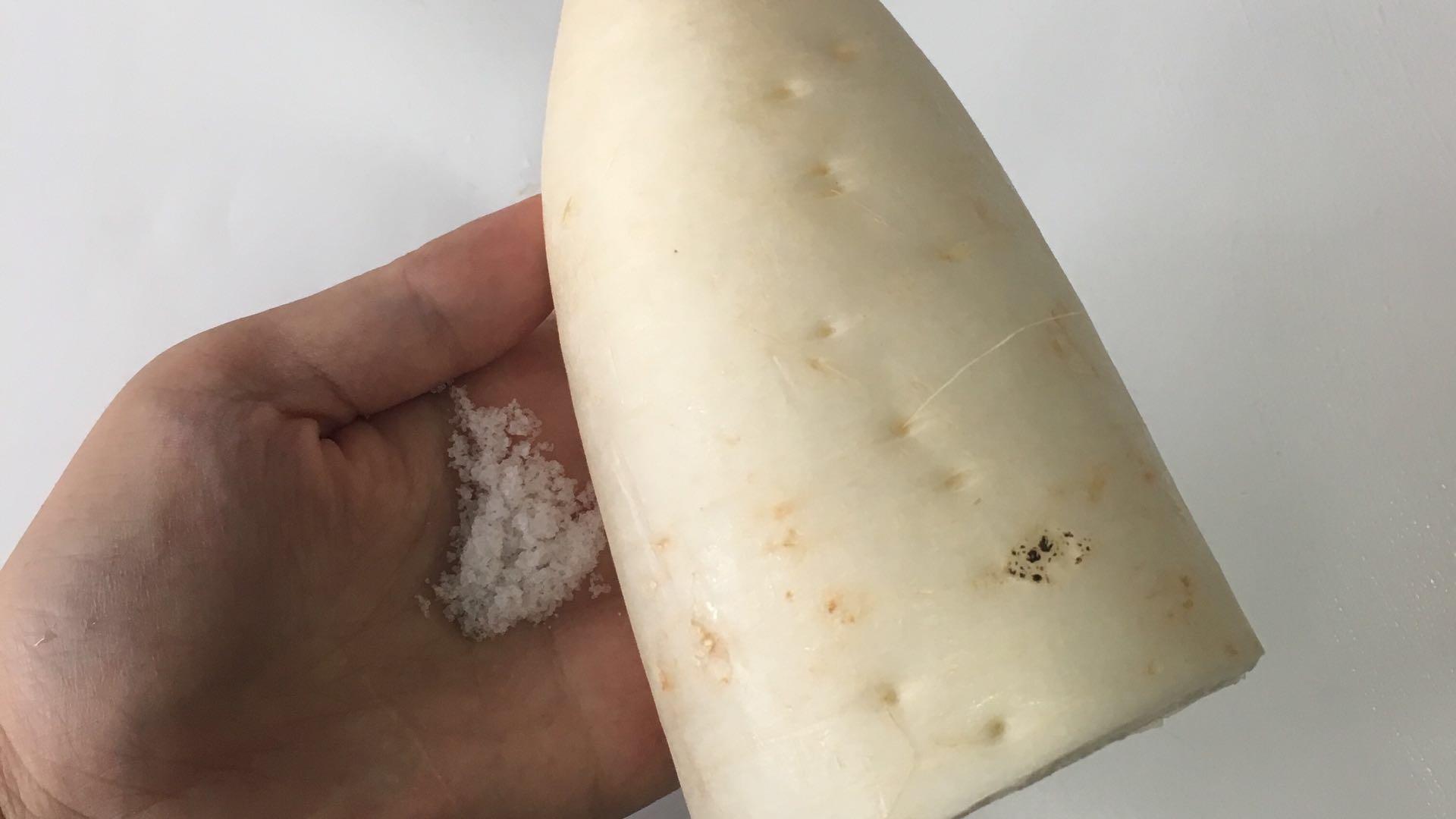 白萝卜虾皮汤的做法图解4