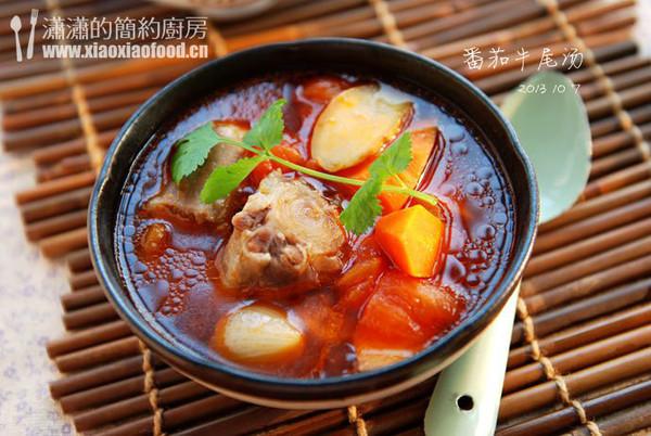 治愈系温暖做法--超浓郁家庭牛尾汤的汤水食谱能静番茄的伊图片