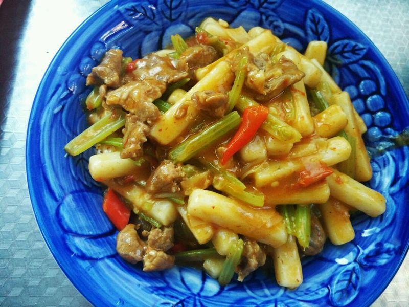 新疆炒年糕的做法_菜谱_豆果美食