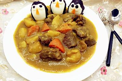 牛肉咖喱土豆#咖喱萌太奇#