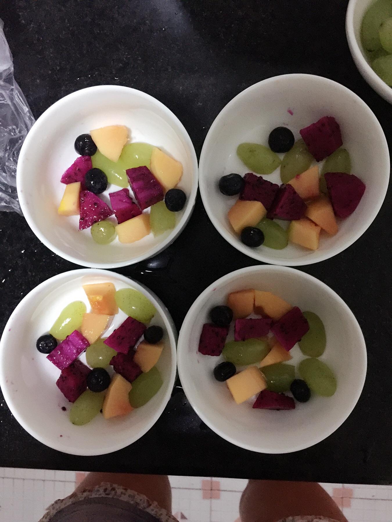 水果果冻的做法步骤