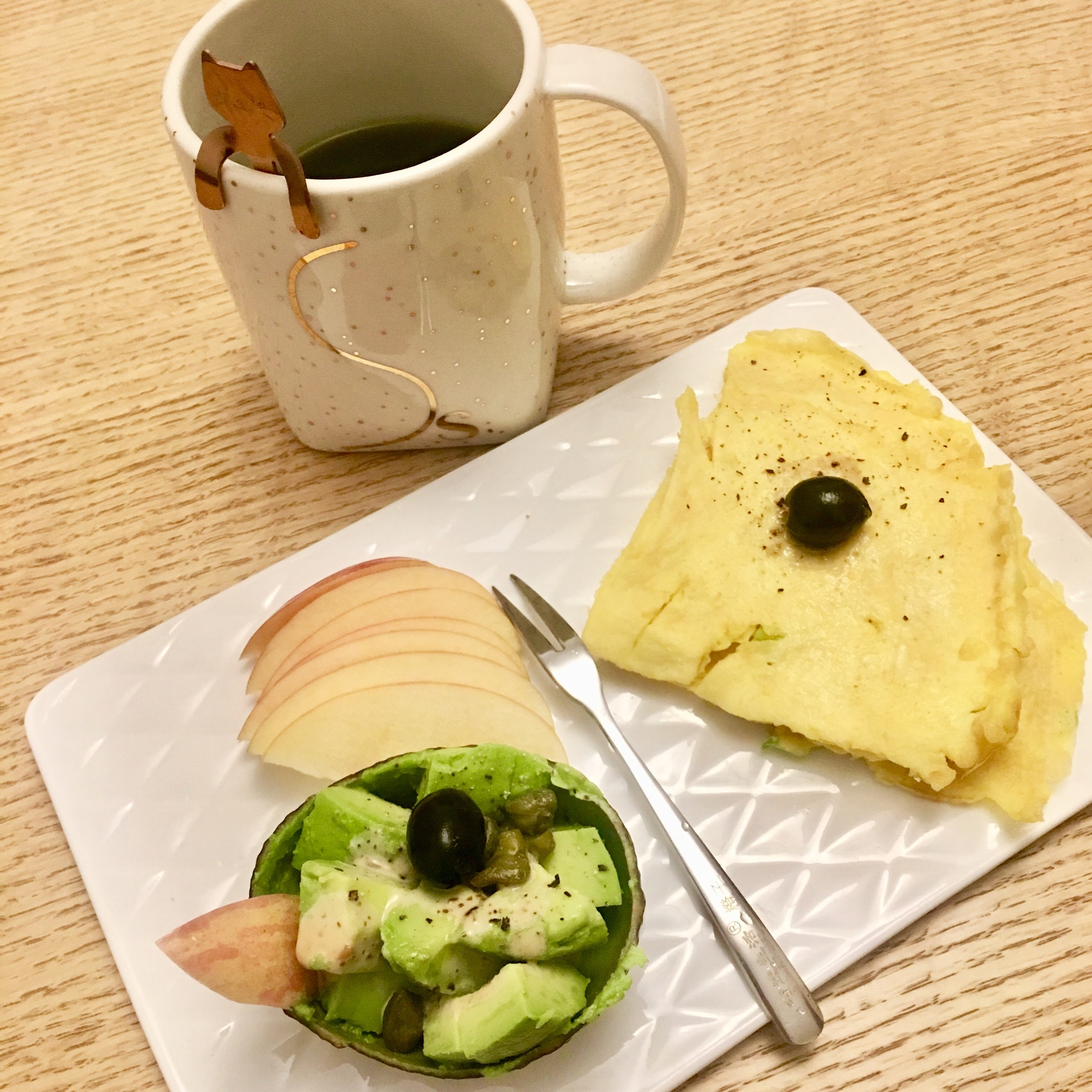 早餐摆盘花样图片图解