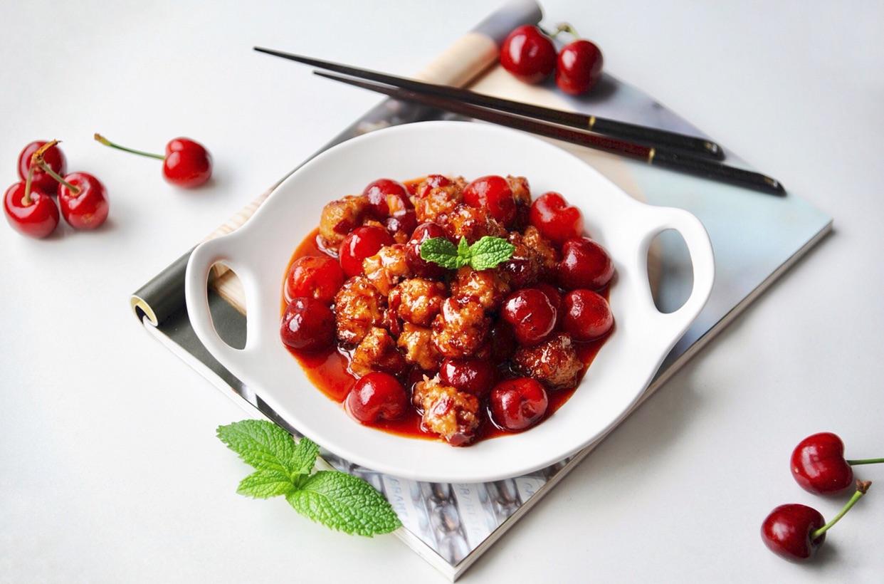樱桃小丸子#在家打造ins风美食#中国好吃哪些美食的有图片
