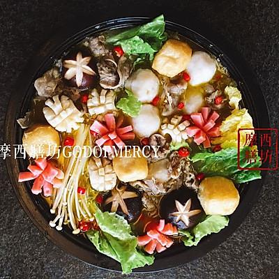 金汤宝宝鸡汤#膳魔师地方美食v金汤#(上海)#的火锅肥牛墨鱼可以吃吗图片