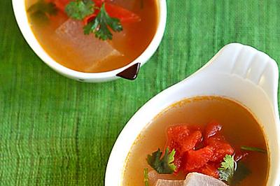 开胃番茄冬瓜汤