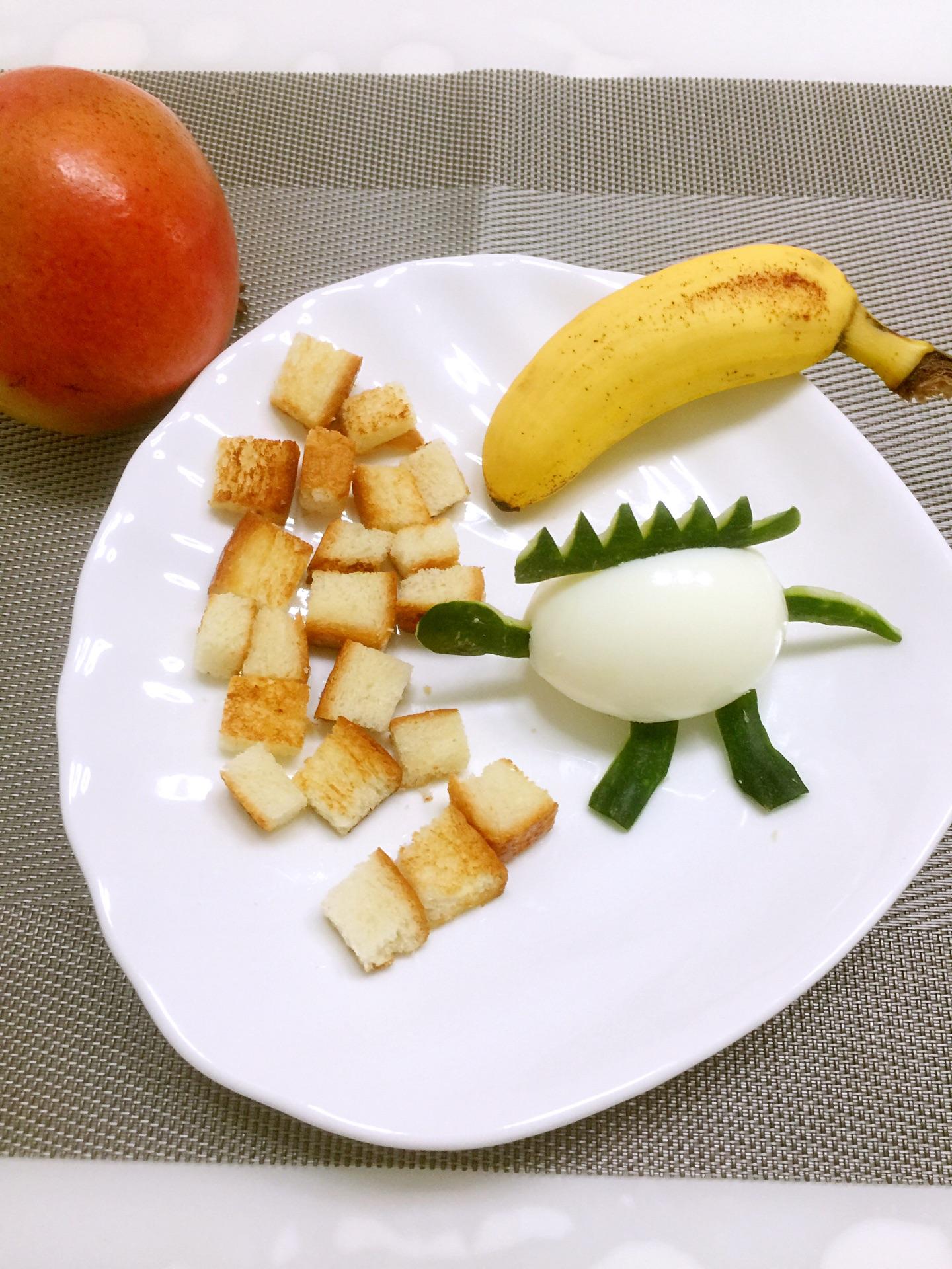 儿童创意早餐的做法图解7