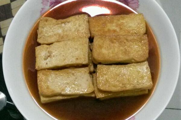 油炸豆腐的家常做法_红烧豆腐块的做法