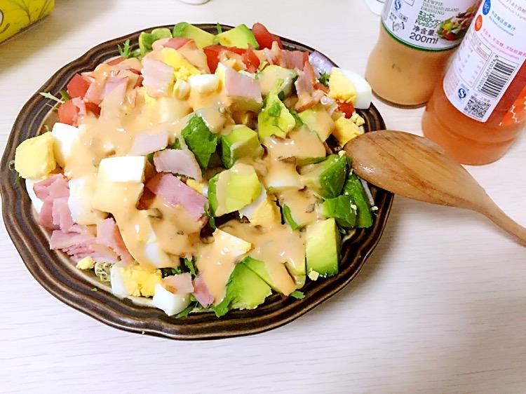 蔬菜沙拉的做法步骤 1.