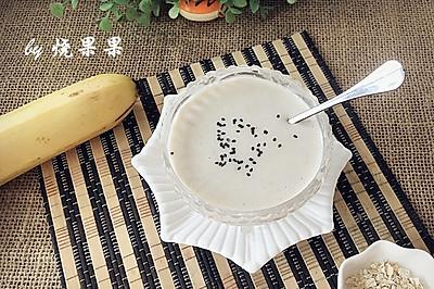 宝宝便秘小辅食——香蕉燕麦奶糊