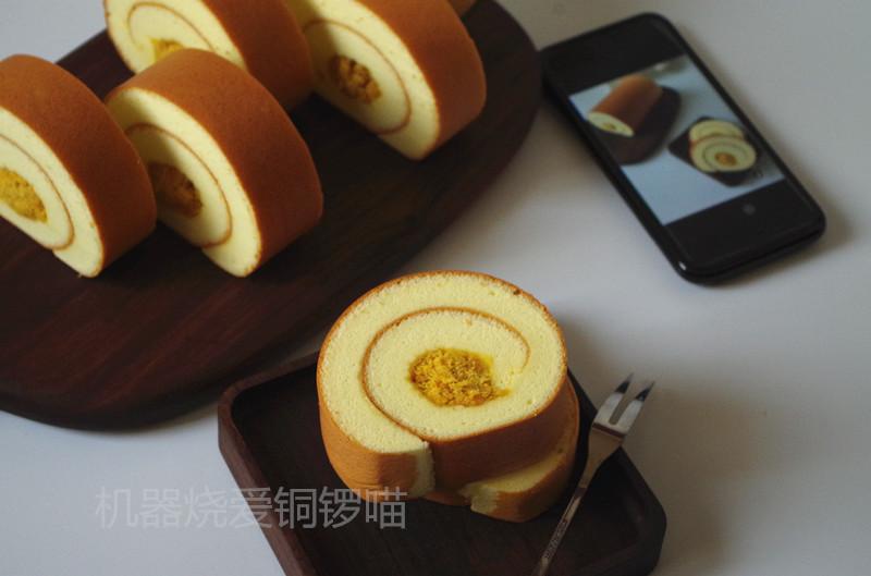 日式棉花肉松蛋糕卷鸡爪消肿图片