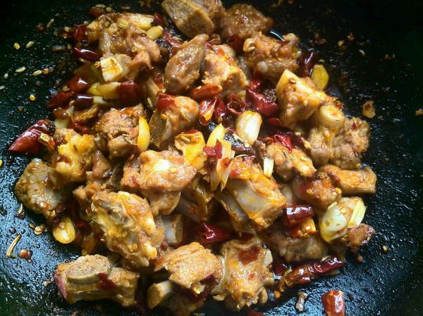 香辣美食火锅的图片_排骨_豆果菜谱烤肉做法菜谱图片