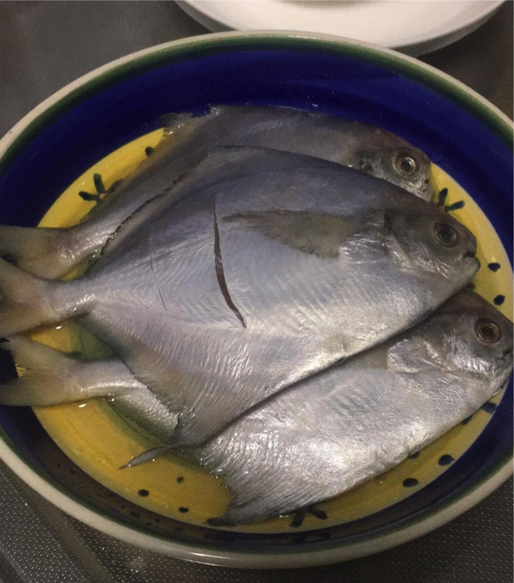 广式干煎白鲳鱼的菜谱_徽菜_豆果美食徽做法带图片菜谱大全图片