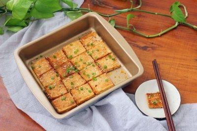 酱香豆腐#美的微波炉菜谱#