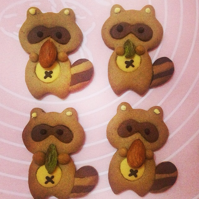 萌萌哒小动物饼干的做法图解5